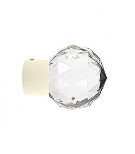 Singolo Bastoni avorio con cristalli