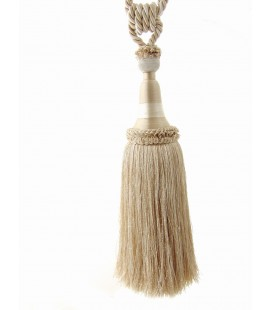 Tassel for curtains cream