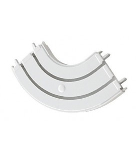 Arc for curtain track