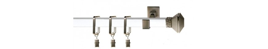 Square Curtain Rods