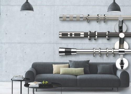 Tende Per Interni On Line : Bastoni per tende binari per tende e accessori bastoni per