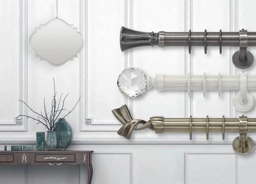 Bastoni per tende binari per tende e accessori bastoni per tende online - Aste per tende finestre ...